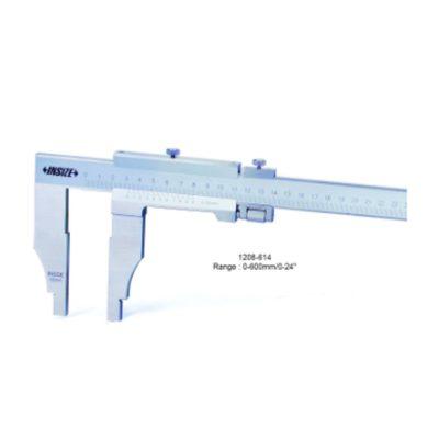 """Thước kẹp cơ Insize 1208-614 0~600mm 0.05mm 0~24"""" 1/128"""""""
