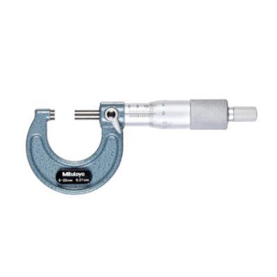 Panme đo ngoài cơ khí Mitutoyo 103-137 0-25mm 0.01mm